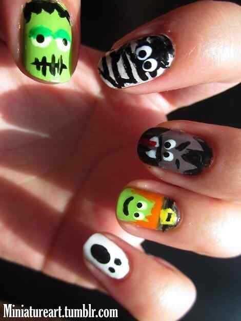 Ideas pintar unas halloween (10)