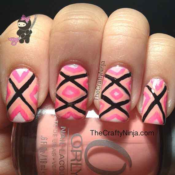 Pink nails unas color rosa (15)