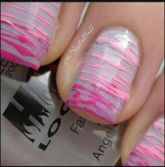 Pink nails unas color rosa (24)