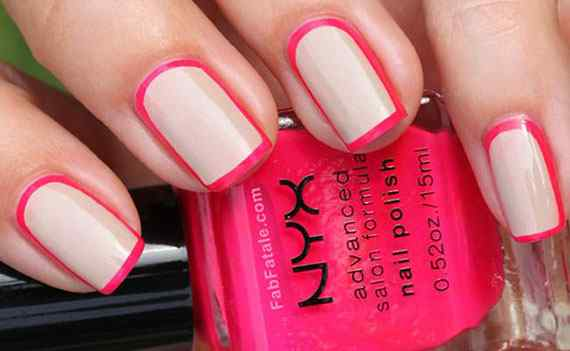 Pink nails unas color rosa (25)