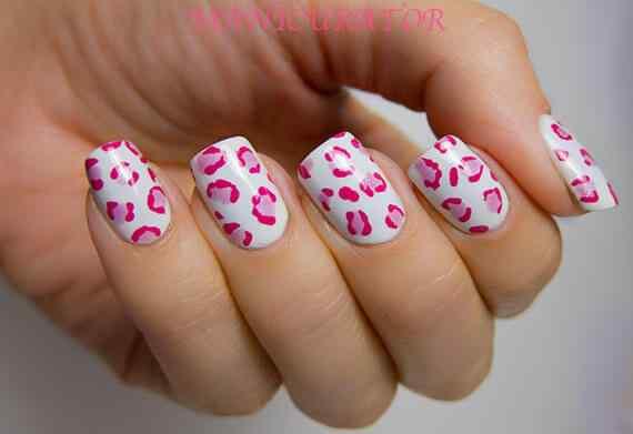 Pink nails unas color rosa (59)