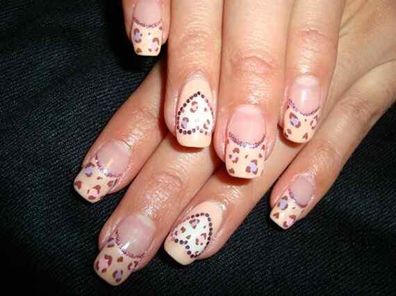 Pink nails unas color rosa (71)