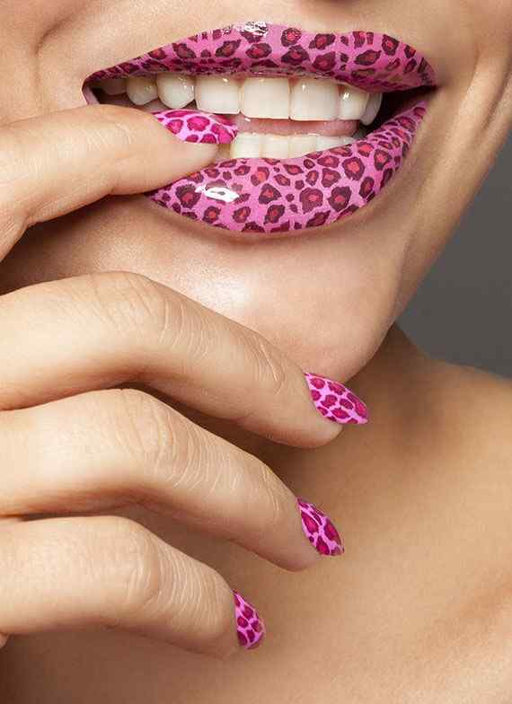 Pink nails unas color rosa (84)