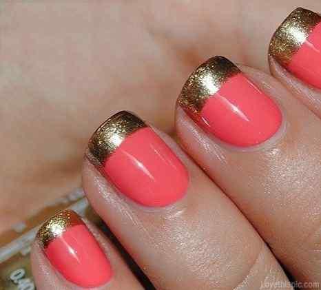 Pink nails unas color rosa (86)