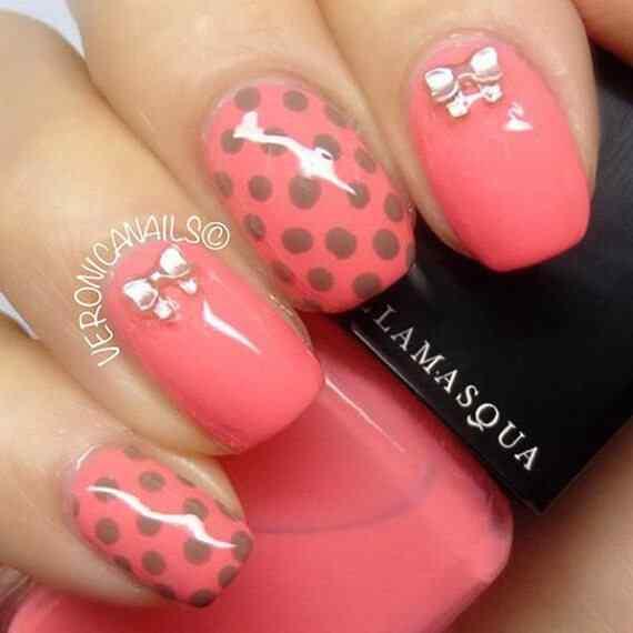 Pink nails unas color rosa (94)