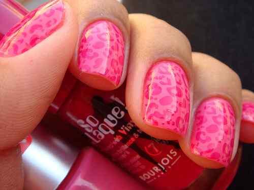 Pink nails unas color rosa (97)