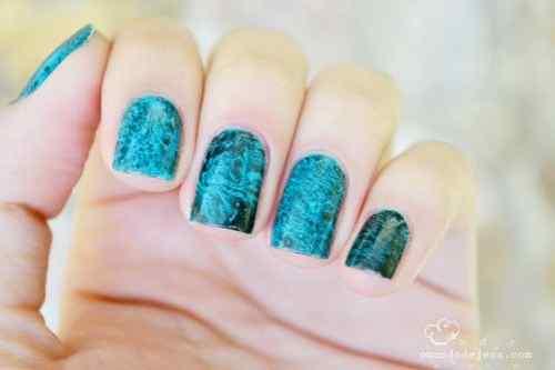Unas celeste  - light blue nails