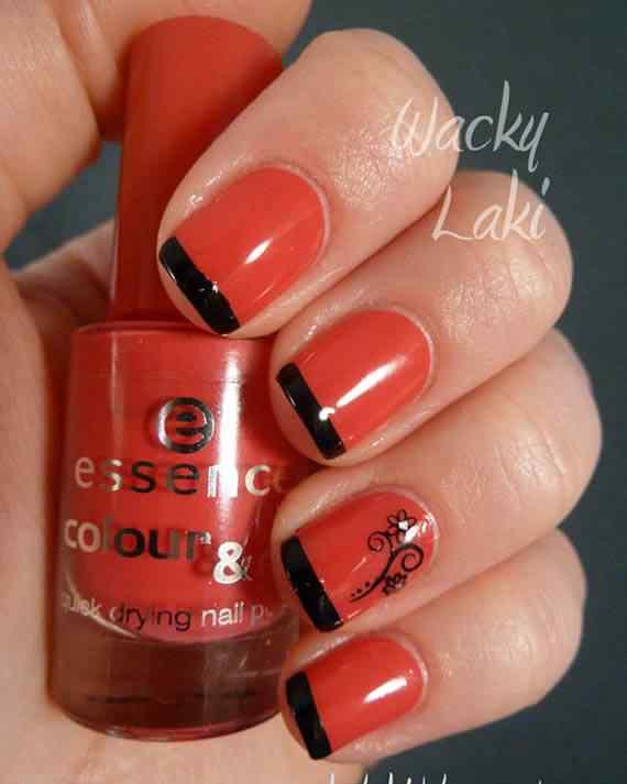Unas color rojo - red nails art (30)