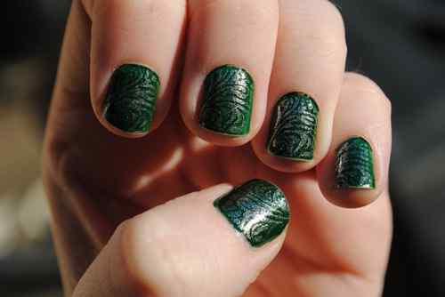 Unas color verde (14)