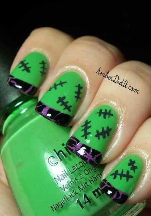 Unas color verde (15)