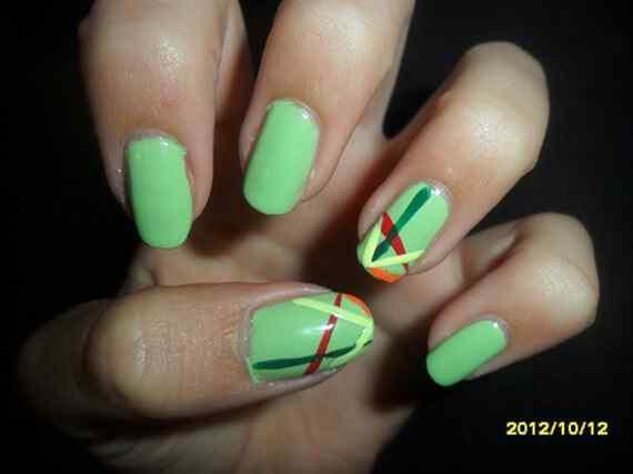 Unas color verde (19)