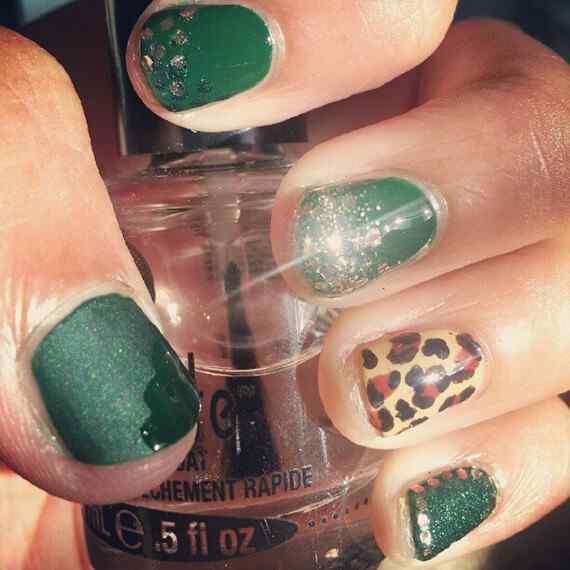 Unas color verde (8)