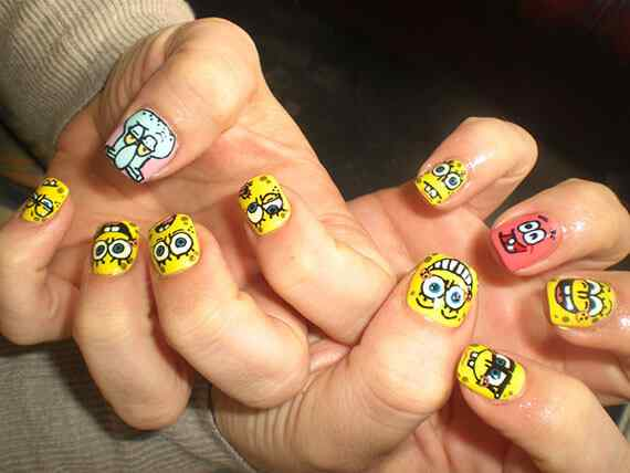 Yellow Nails - Unas amarillas (36)