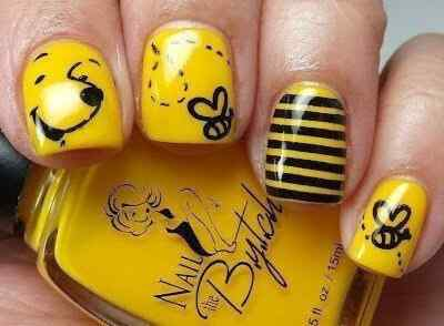 Yellow Nails - Unas amarillas (37)