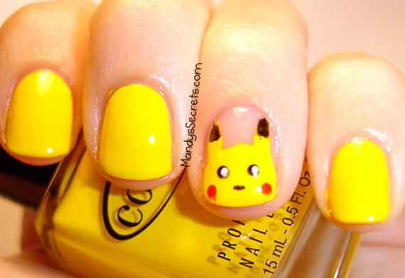 Yellow Nails - Unas amarillas (56)