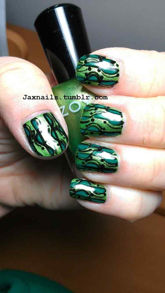 decoracion de unas verdes (2)