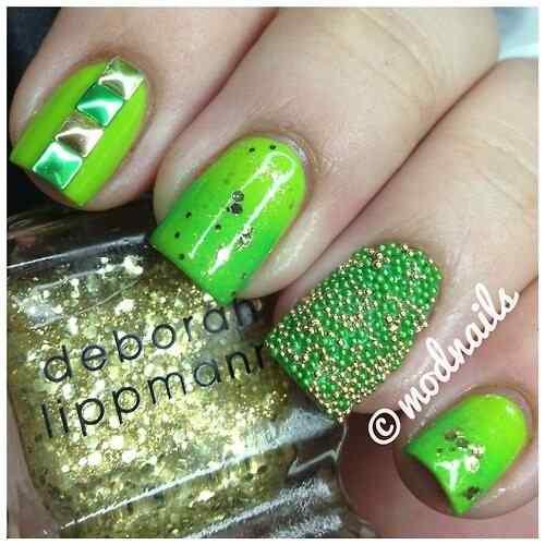 decoracion de unas verdes (21)