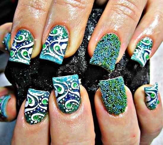 fotos unas caviar nails (11)