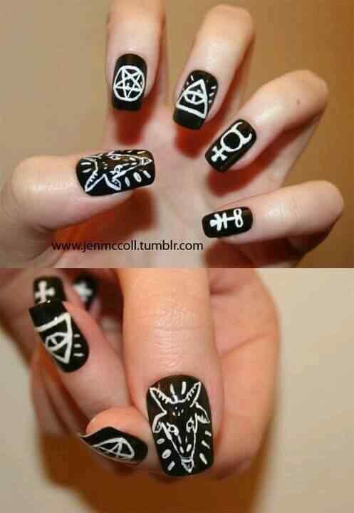halloween nails (1)