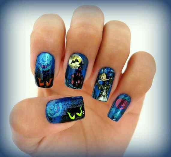halloween nails (2)