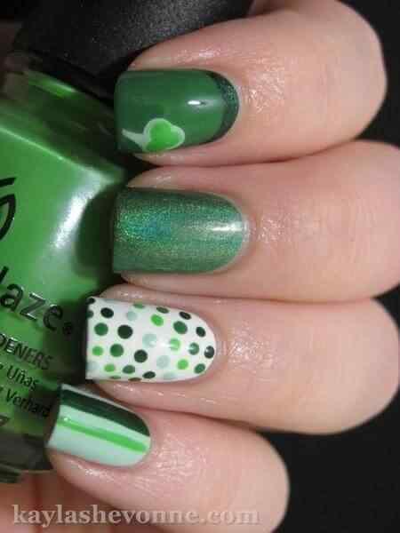 Fotos de unas color verde (2)
