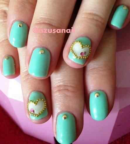 Unas color verde (1)