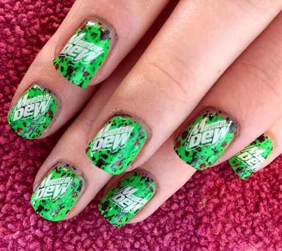 Unas color verde (16)