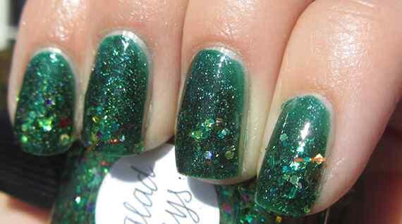Unas color verde (3)