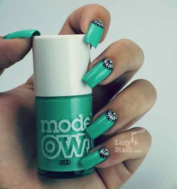 Unas color verde (6)