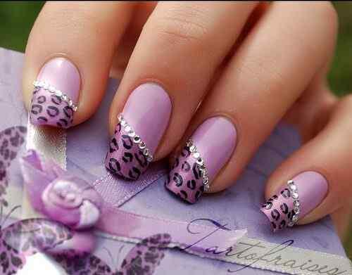 decorar unas purpura (7)