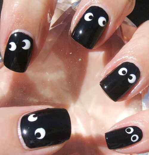 google-easy-nails-black-color