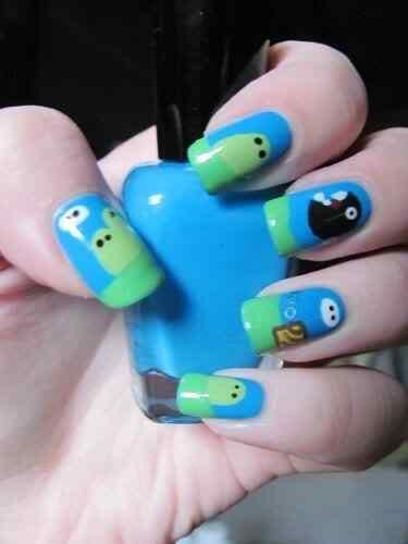 mario bross nails (4)