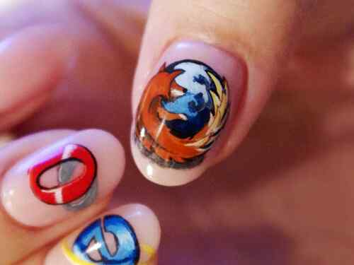 nail-art firefox