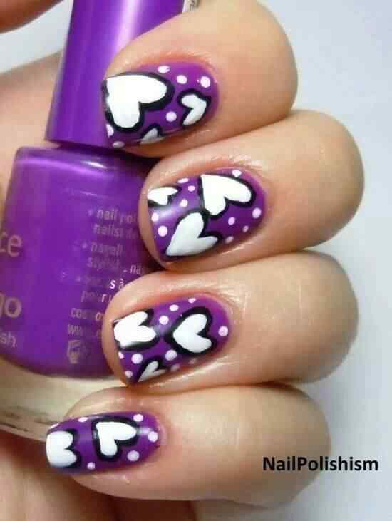 purple nails (3)