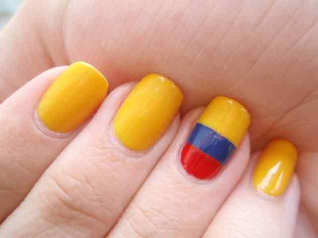 Unas pintadas mundial 2014 - Colombia