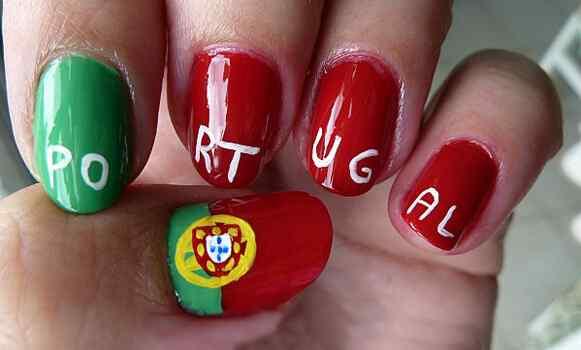 Unas pintadas mundial 2014 - Portugal
