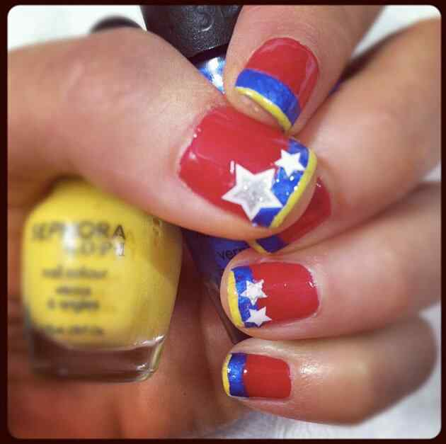 Unas pintadas mundial 2014 - Venezuela