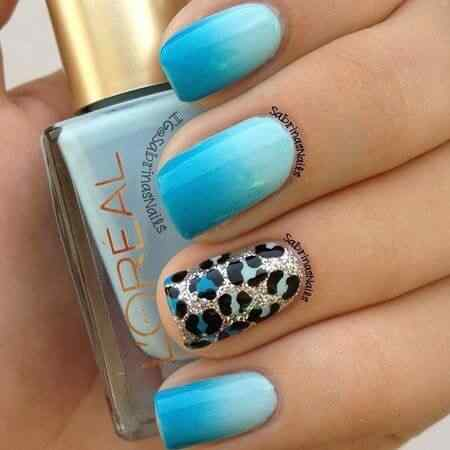 animal print nails images (14)