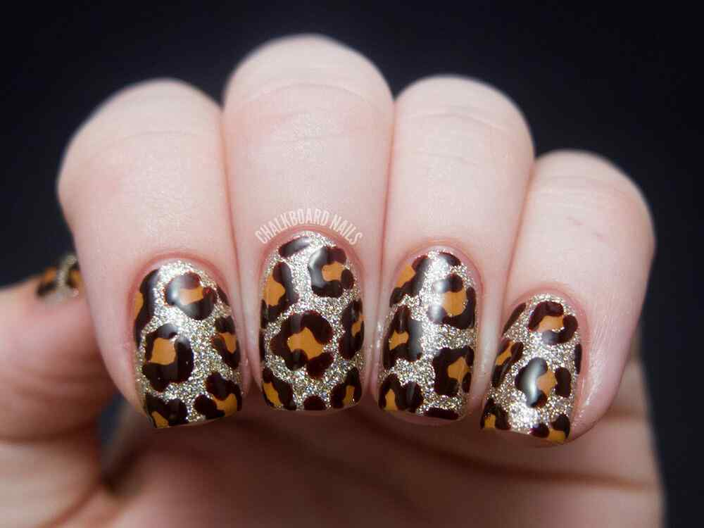 animal print nails images (2)