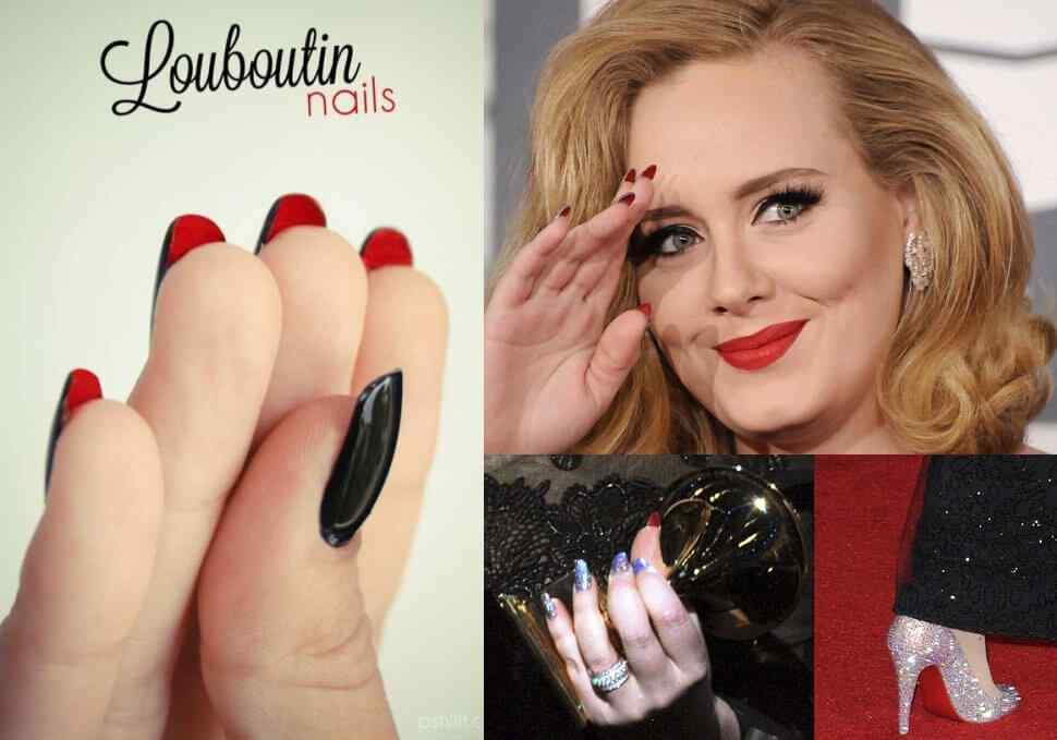 Louboutin-nails-Adele