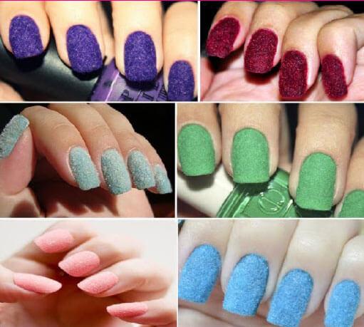 Como decorar las uñas con un diseño aterciopelado facil