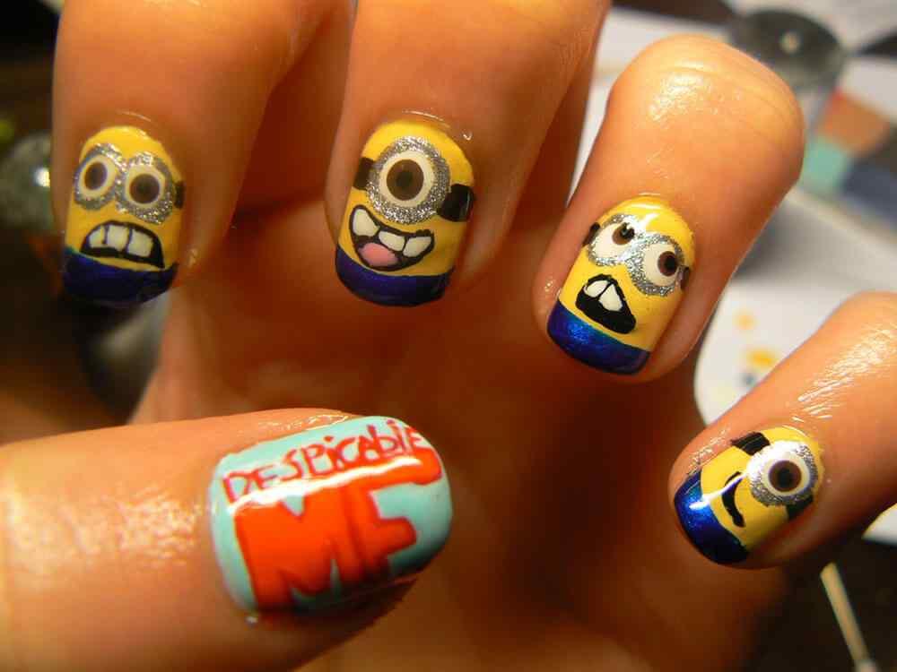 Depicableme nails