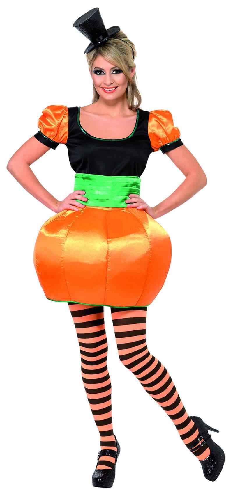 Disfraces-Halloween-para-Mujer-Calabaz