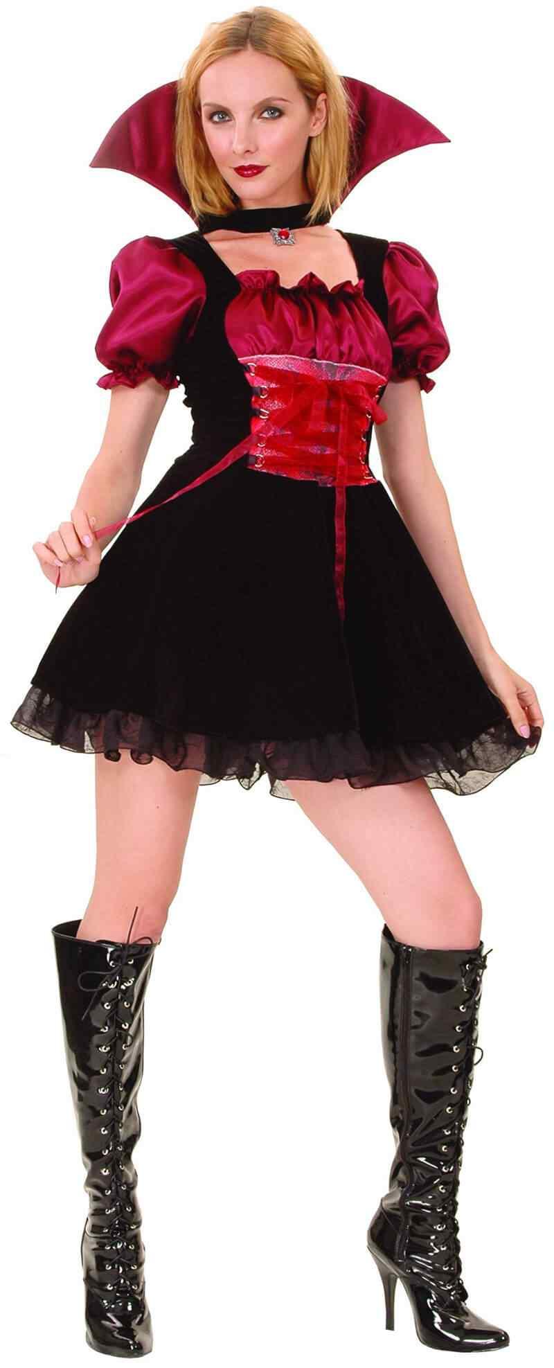Disfraces-Halloween-para-Mujer-vampiro-sexy