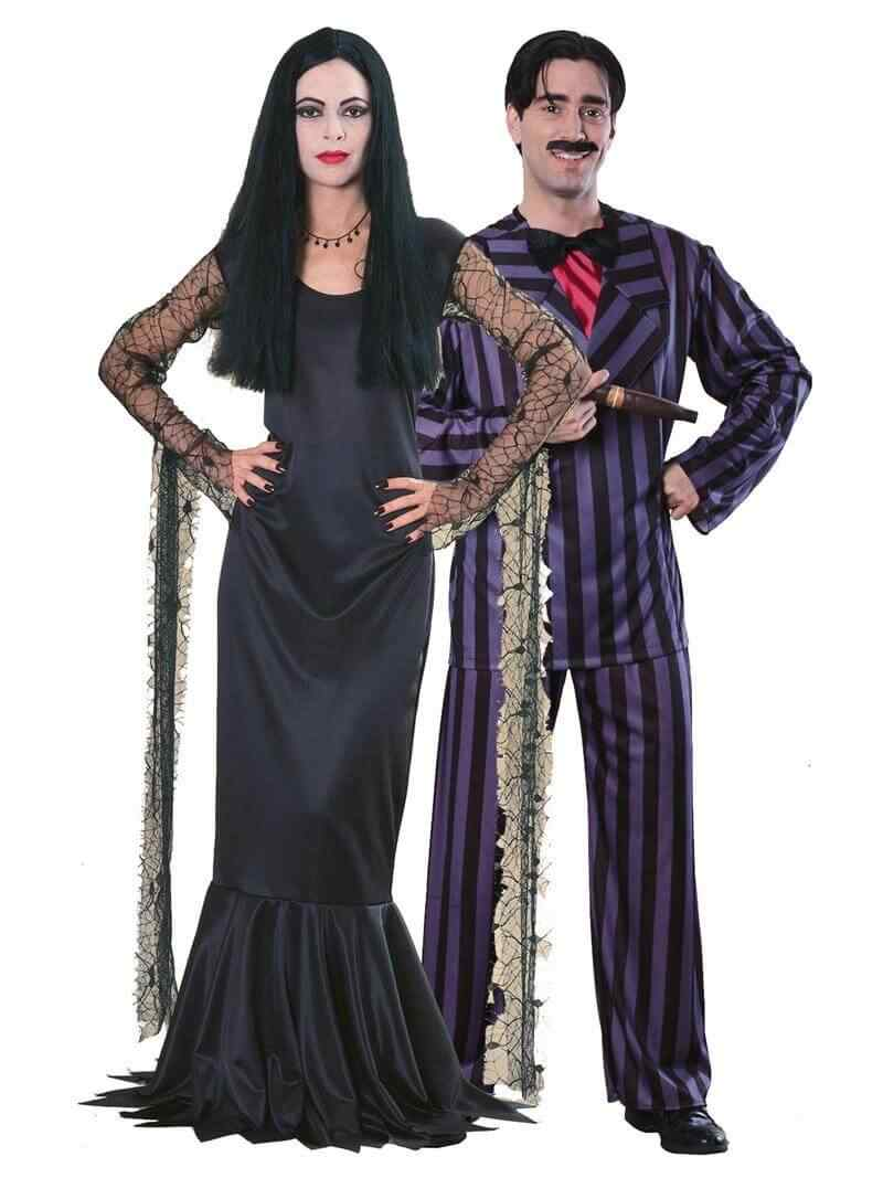 Disfraces halloween parejas locos adams