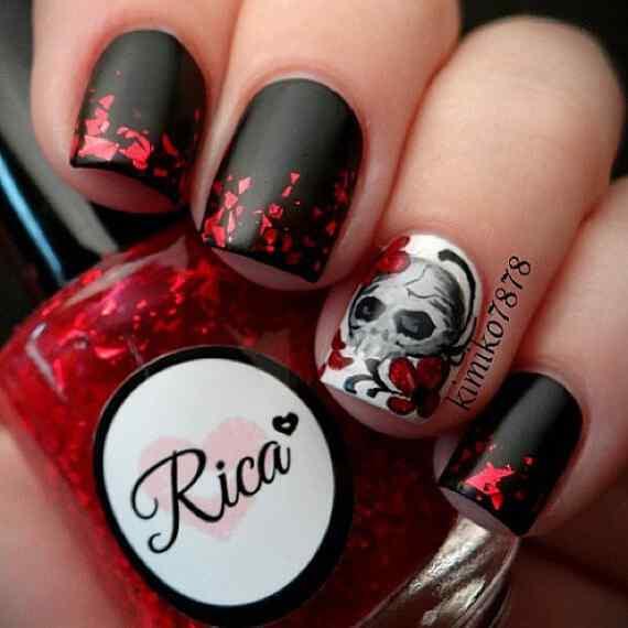 Halloween nails 2014 (1)