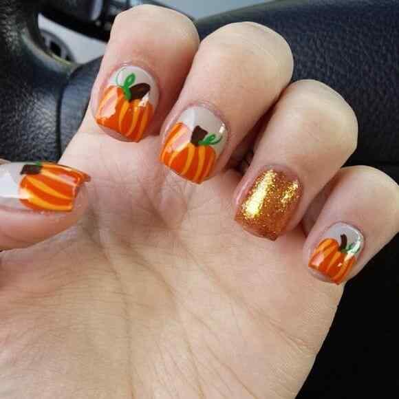 Unas decoradas de Halloween 2014 (2)