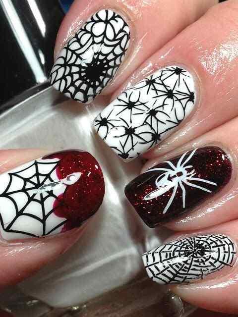 Unas decoradas de Halloween 2014 (3)
