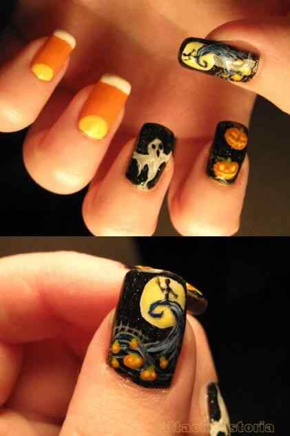 Unas decoradas de Halloween 2014 (6)