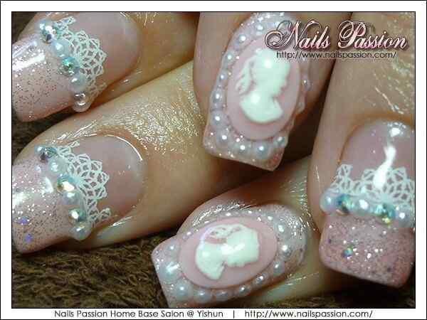 2015 bridal nails (3)